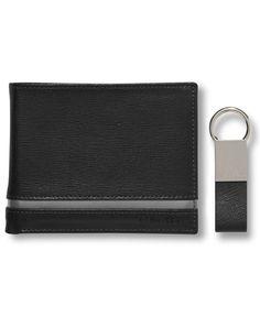 Calvin Klein Saffiano Bifold Wallet with Key Fob