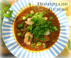 Gumbo, New Recipes, About Me Blog, Beef, Homemade, Bucket Lists, Blogging, Food, Tips