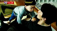 Manse's kiss for appa