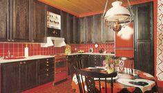 70-luvulta, päivää !: Keittiö on kodin ♥