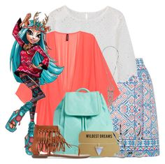 """""""Isie Dawn Dancer"""" by ilsaisingriffindor on Polyvore featuring Oasis, Vera Bradley, Sam Edelman and Dorothy Perkins"""