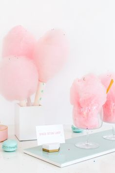 Spiked cotton candy? Yes please!