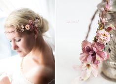 Haarschmuck & Kopfputz - Diadem Perlen Hochzeit Haarschmuck - ein Designerstück von _Julmond_ bei DaWanda
