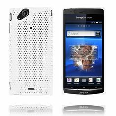 Atomic (Hvid) Sony Ericsson Xperia Arc Cover
