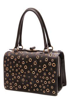 Such a unique bag... Prada is a forever favorite
