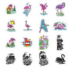 Flamingo tattoo design ideas from Tattoo-Art.com