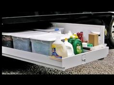 HOW TO: Organize an RV Basement - Great Idea & Tips. I like this.