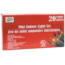 bulk christmas house 20 bulb multicolored indoor christmas light sets at dollartreecom