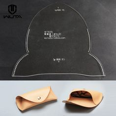 Wuta Eyeglasses Case Template Set Acrylic Leather Pattern Diy Design WT835 | Crafts, Leathercrafts, Leathercraft Tools | eBay!