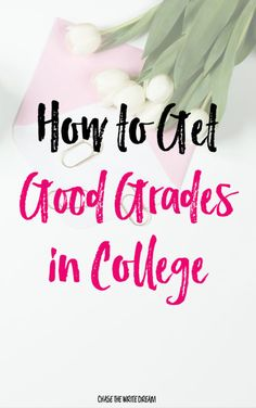 to Get Good Grades in College: 5 Easy Tips How to Get Good Grades in College - Looking to up your GPA this semester? Get…How to Get Good Grades in College - Looking to up your GPA this semester? College Test, College Success, College Fun, Education College, College Life, Science Education, Physical Education, Scholarships For College, College Students