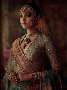 2019 Sabyasachi Charbagh Bridal Lehenga Collection 2019 Sabyasachi Charbagh Bridal Lehenga collection has a bunch of traditional red wedding lehengas, some gorgeous destination wedding outfits + lots more. Sabyasachi Lehenga Bridal, Indian Bridal Lehenga, Lehenga Blouse, Lehenga Wedding, Sabyasachi Suits, Sabyasachi Collection, Bridal Lehenga Collection, Indian Bridal Outfits, Indian Bridal Wear