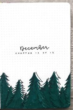 30 best DECEMBER monthly cover ideas to add some festive vibes to your bullet journal! Bullet Journal School, December Bullet Journal, Bullet Journal Cover Ideas, Bullet Journal Lettering Ideas, Bullet Journal Notebook, Bullet Journal Spread, Bullet Journal Inspo, Bullet Journal Ideas Pages, Journal Covers