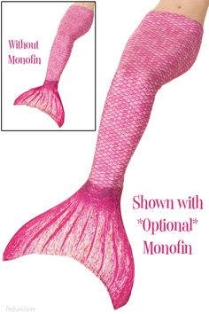 Mermaid Tail in Malibu Pink for Pam's 8th bday.. So excited for her!!