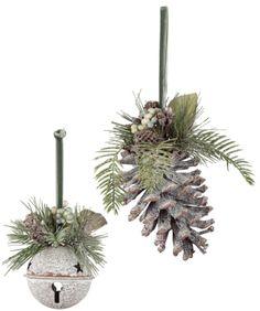 Sullivan Pinecone Ornaments