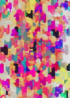 'Neon Tambourine' by Georgiana Paraschiv via Society6