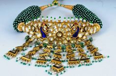 Buy New Design Jewelry in Suranas Jaipur Gold Rings Jewelry, Royal Jewelry, Gold Jewellery Design, Diamond Necklaces, Diamond Jewellery, Choker Necklaces, Antique Jewellery, Statement Jewelry, Jewelery