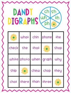 Diagraphs worksheets (Ch, Sh and Th) | Worksheets
