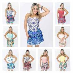 Vestido Panicat Boneca Cinturado Moda Verão 2017 Fique Linda - R$ 49,99 em Mercado Livre