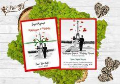 #LOVE#red#Heard#invitation#wedding#zaproszenia#ślub#para_młoda#miłosne#białe_czerwone ♡www.liwmaart.pl Peanuts Comics, Stop It