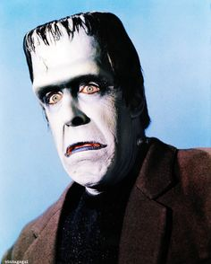 Fred Gwynne as Herman Munster Munsters Tv Show, The Munsters, La Familia Munster, Movies Showing, Movies And Tv Shows, Herman Munster, Tv Movie, Yvonne De Carlo, Wolf