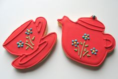 These are sugar cookies with royal icing