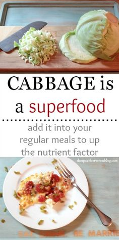 add cabbage to food like nachos and mac and cheese without anyone noticing they're now healthy!!