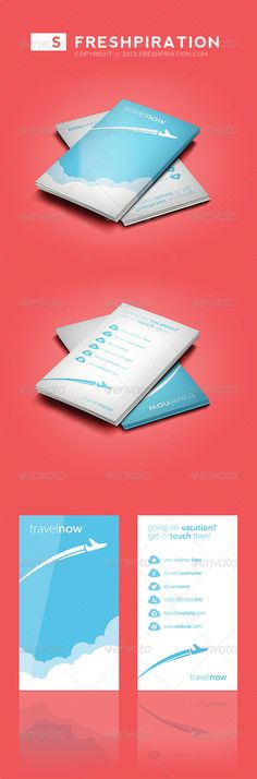Travel Agency Business Card  #transport #airplane • Click here to download ! http://graphicriver.net/item/travel-agency-business-card/4027681?s_rank=158&ref=pxcr