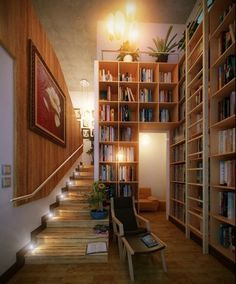 awesome, cool, design, books, architecture, 14 Home Library Designs to Die For