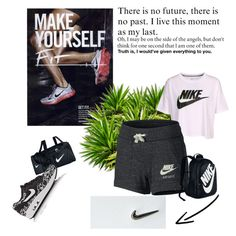 """nike2"" by ohanita7 on Polyvore featuring moda y NIKE"