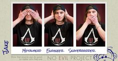Jake: Metalhead, Engineer, Skateboarder - I recently helped a person with a mental disabiliy participate in a fashion show