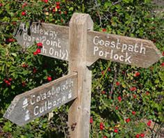 South West Coast Path. This website only has walker approved accommodation so will use this where possible.