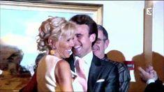 Emmanuel et Brigitte Macron à leur mariage le 20 octobre 2007.