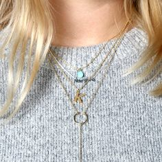 layering necklaces,