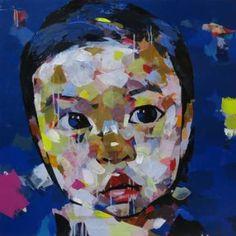 "Saatchi Art Artist artist Chu Van; Painting, ""baby Le"" #art"