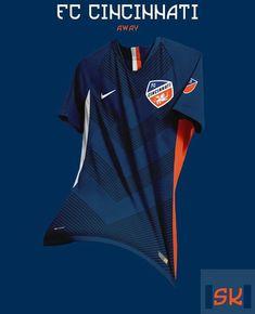 Tremendous - 48 Unique Nike MLS Concept Kits By Santi Kits - Footy Headlines Nike Football Kits, Football Shirt Designs, Football Design, Sports Jersey Design, Sport Shirt Design, Shirt Print Design, Soccer Uniforms, Soccer Shirts, Sports Shirts