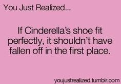 I'm so dumbfounded at this. This changed my point of view on Cinderella now