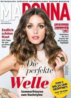 Olivia Palermo For Madonna Magazine (Austria) 16 August 2014 Cover