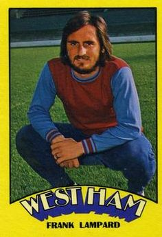 1974-75 A&BC Gum #59 Frank Lampard Front