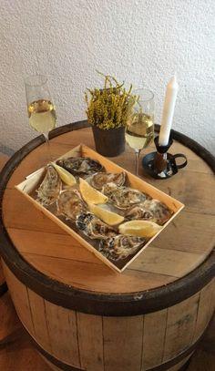 Oysters and Champagne Karkonoska Piwnica Win