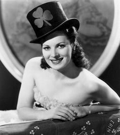 Gorgeously cheerful St. Patrick's Day charm and wishes care of Maureen O'Hara.