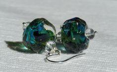Mermaid Gems Earrings by CloverBlueToo on Etsy,