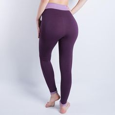 Cropped High Waist Leggings And Yoga Pants