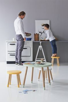 Flexa Childrens Beds and Bedroom Furniture - Flexa PLAY Small Stool - quality from Flexa available now