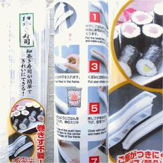 I love sushi!! I could make some myself with this awesome item!