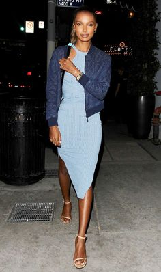 In need of outfit inspiration for a night out this spring? Look no further than model Jasmine Tookes.