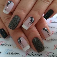 #nailart #unhasdasemana💅 #unhas #unhasdecoradas #unhasdehoje Elegant Nail Designs, Elegant Nails, Stylish Nails, Bridal Nails Designs, Acrylic Nail Designs, Nail Art Designs, Rose Nails, Luxury Nails, Healthy Nails