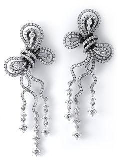 Le Noiré Diamond Knot Earrings - Supreme Jewelry Corp. - Product Search - JCK Marketplace