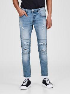 Jack & Jones GLENN JJDUST NZ 713 Slim Fit Jeans für 59,99€. Slim-Fit-Jeans für eine schlanke Silhouette, Stretchdenim sorgt für tollen Tragekomfort bei OTTO