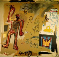 Jean Michel Basquiat, Red man, 1981