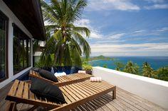 Casas del Sol, the tropical contemporary villas on the island of Koh Tao.